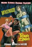 Monstrosity Teenage Zombies Double Feature DVD
