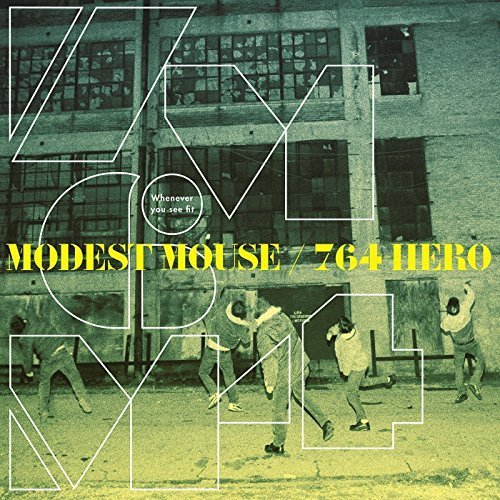 Modest Mouse & 764 Hero Whenever You See Fit (blue Yellow Vinyl)