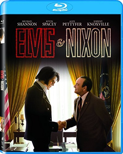 Elvis & Nixon Spacey Shannon Blu Ray Nr