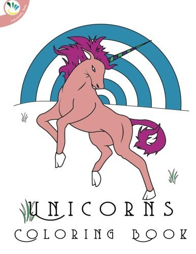 Awesome Coloring Books Unicorns Coloring Book