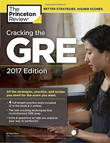 Princeton Review Cracking The Gre With 4 Practice Tests 2017