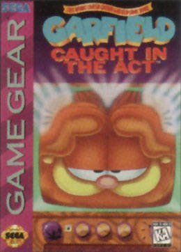 Sega Game Gear Garfield Caught In The Act
