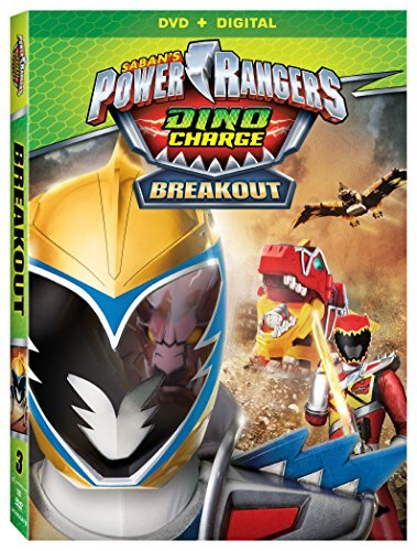 Power Rangers Dino Charge Breakout DVD Dc