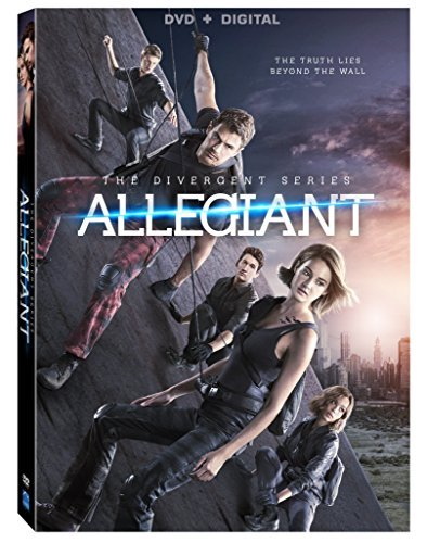 Divergent Allegiant Woodley James DVD Dc Pg13