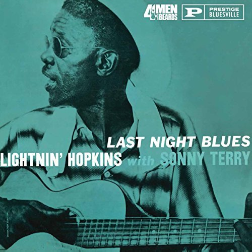 Lightnin' Hopkins With Sonny Terry Last Night Blues Lp