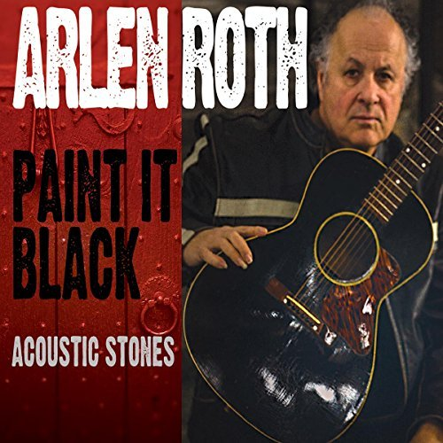Arlen Roth Paint It Black Acoustic Stone