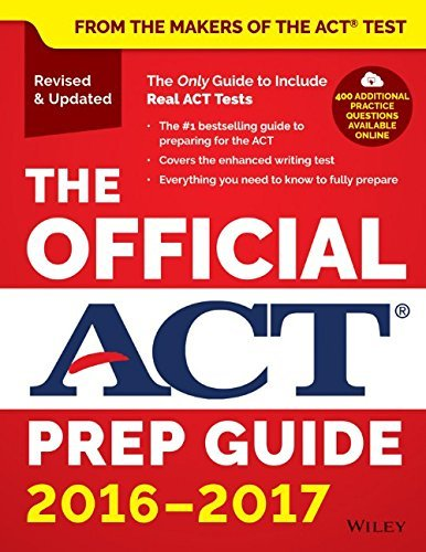 Act The Official Act Prep Guide 2016 2017 2016 2017