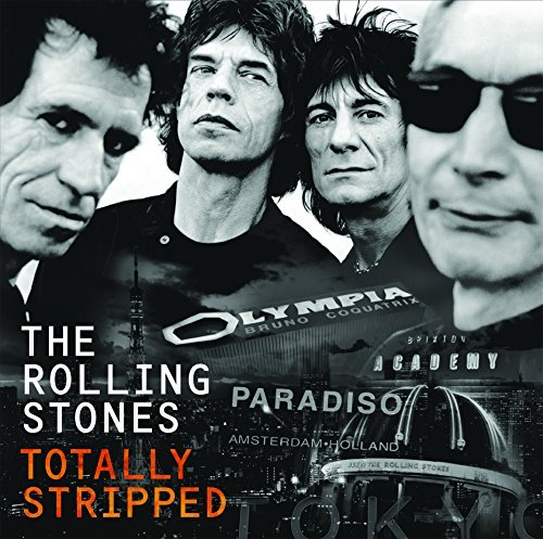 Rolling Stones Totally Stripped 2lp DVD