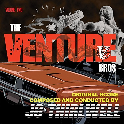 Jg Thirlwell Music Of The Venture Bros 2