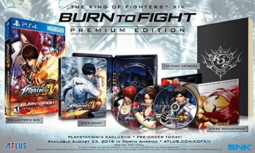 Ps4 King Of Fighters Xiv Burn To Fight Premium Edition