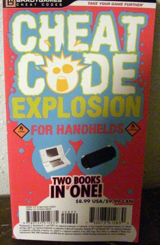 H. Leigh Davis Cheat Code Explosion For Handhelds Two Books In One