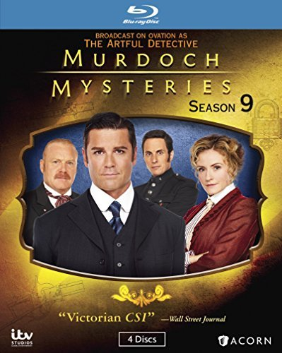 Murdoch Mysteries Season 9 Blu Ray