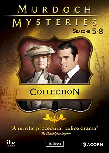 Murdoch Mysteries Seasons 5 8 DVD