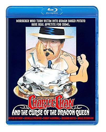 Charlie Chan & Curse Of The Dragon Queen Ustinov Dickinson Blu Ray Pg