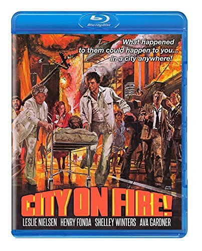 City On Fire Newman Fonda Blu Ray R