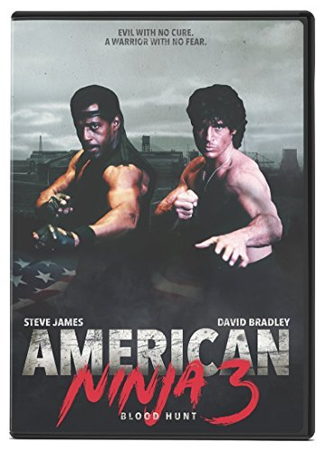 American Ninja 3 Blood Hunt Dudikoff James DVD R