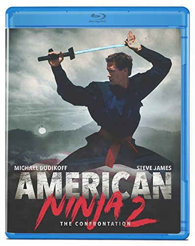 American Ninja 2 Confrontation Dudikoff James Blu Ray R
