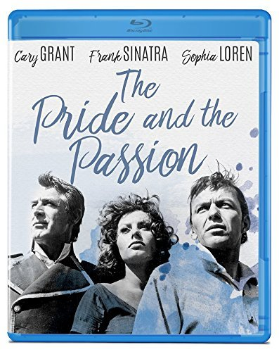 Pride And The Passion Grant Sinatra Loren Blu Ray Nr