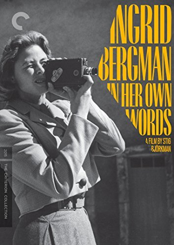 Ingrid Bergman In Her Own Words Ingrid Bergman In Her Own Words DVD Nr Criterion