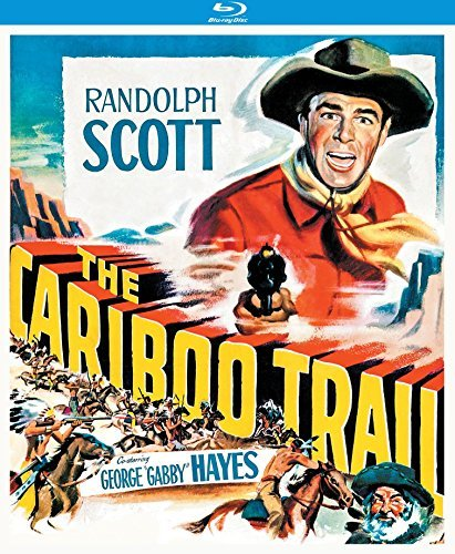 Cariboo Trail (1950) Scott Hayes Blu Ray Nr