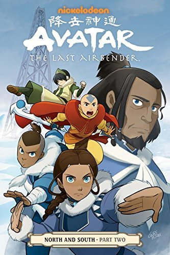 Nickelodeon Avatar The Last Airbender North And South Part Two