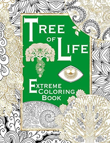 Salariya Tree Of Life Extreme Coloring Book
