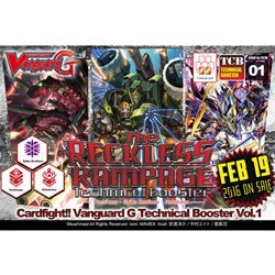 Cardfight Vanguard Cards Reckless Rampage Technical Booster