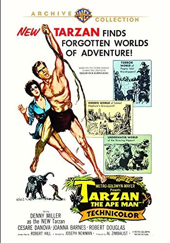 Tarzan The Ape Man Tarzan The Ape Man DVD Mod This Item Is Made On Demand Could Take 2 3 Weeks For Delivery