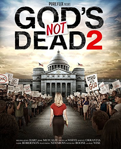 God's Not Dead 2 Hart Metcalfe Wise DVD Pg