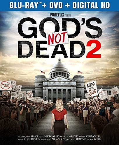 God's Not Dead 2 Hart Metcalfe Wise Blu Ray DVD Dc Pg