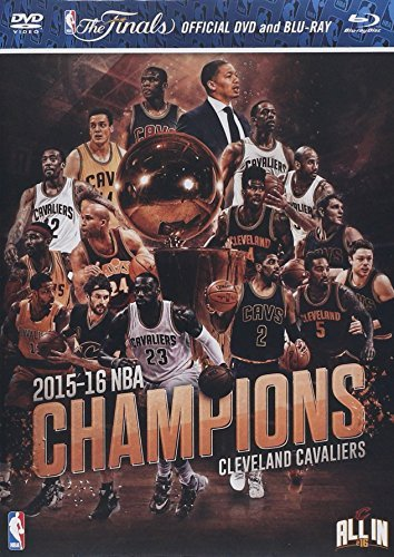 Cleveland Cavaliers Nba Champions 2015 2016 Blu Ray DVD Combo Pack