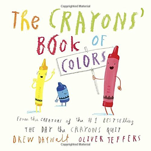 Drew Daywalt The Crayons' Book Of Colors