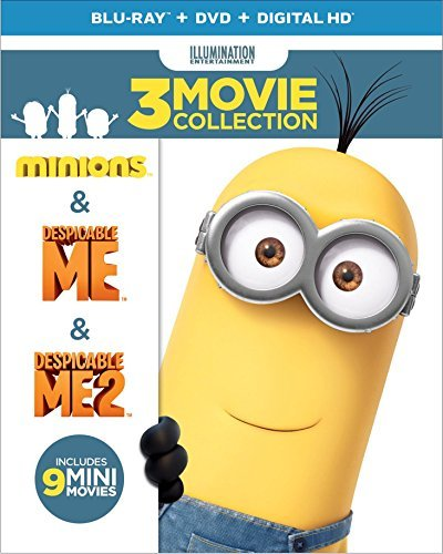 Despicable Me 3 Movie Collection Blu Ray Pg