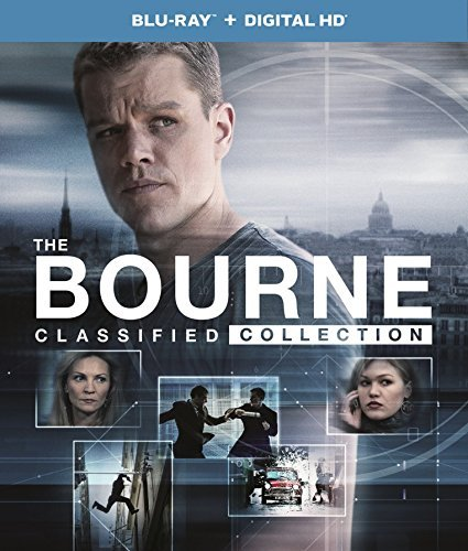 Bourne Classified Collection Blu Ray