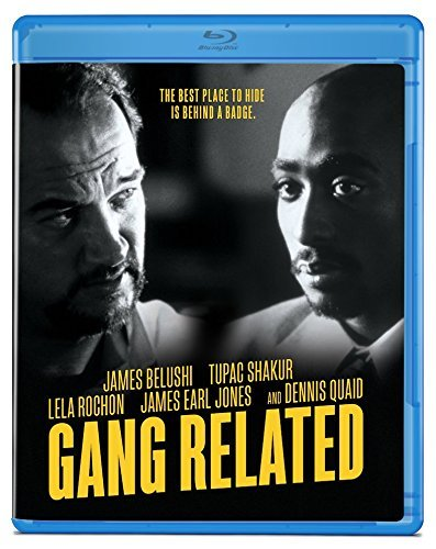 Gang Related Belushi Shakur Rochon Quaid Jones Blu Ray R