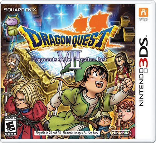 Nintendo 3ds Dragon Quest Vii Fragments Of The Forgotten Past