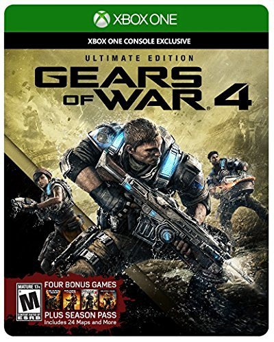Xbox One Gears Of War 4 Ultimate Edition Includes Steelbook With Disc Season Pass & Early Access