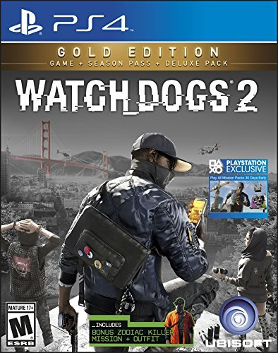Ps4 Watch Dogs 2 Gold Edition