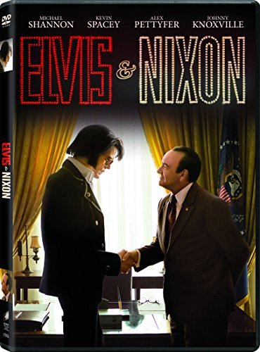 Elvis & Nixon Spacey Shannon DVD R