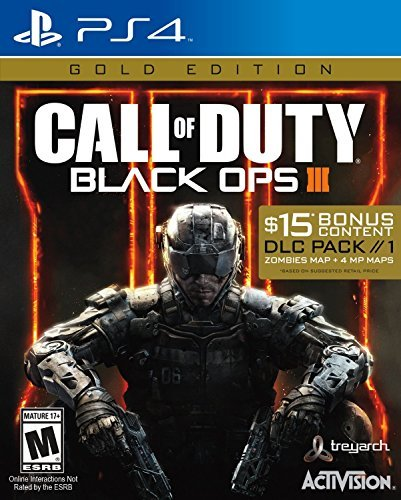 Ps4 Call Of Duty Black Ops 3 Gold Edition