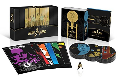 Star Trek Original Cast 50th Anniversary Tv & Movie Collection Blu Ray Pg
