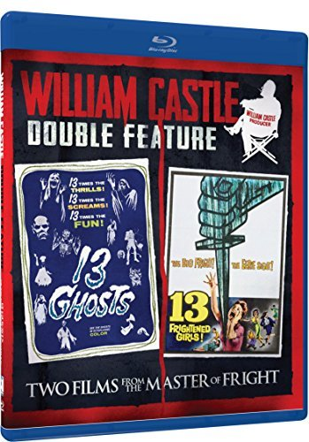 13 Ghosts 13 Frightened Girls William Castle Double Feature Blu Ray