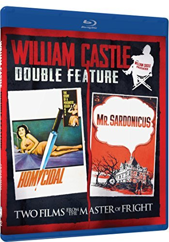 Homicidal Mr. Sardonicus William Castle Double Feature Blu Ray