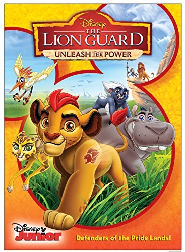 Lion Guard Unleash The Power Disney DVD