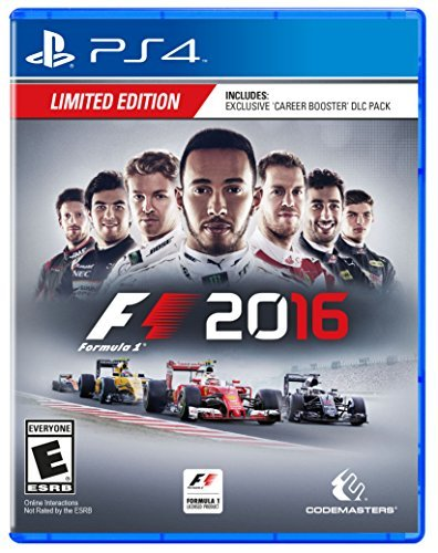 Ps4 F1 2016 (day 1 Edition)