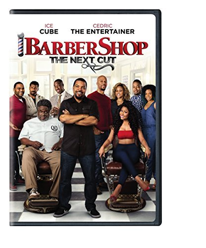 Barbershop The Next Cut Ice Cube Cedric Hall Anderson Common Minaj DVD Pg13