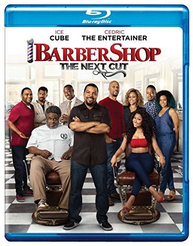 Barbershop The Next Cut Ice Cube Cedric Hall Anderson Common Minaj Blu Ray Pg13