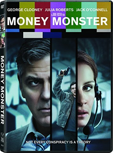 Money Monster Clooney Roberts O'connell DVD R