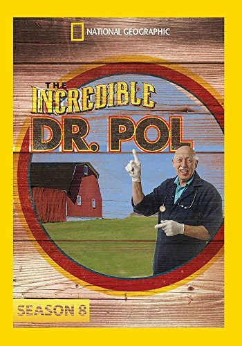 Incredible Dr Pol Season 8 Incredible Dr Pol Season 8 DVD Mod This Item Is Made On Demand Could Take 2 3 Weeks For Delivery