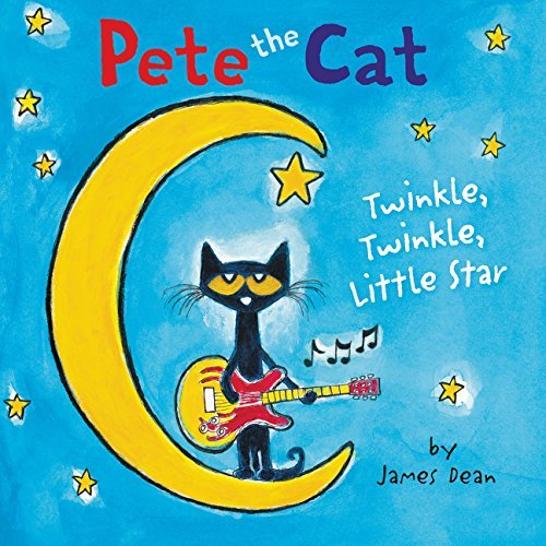 James Dean Pete The Cat Twinkle Twinkle Little Star Board Book